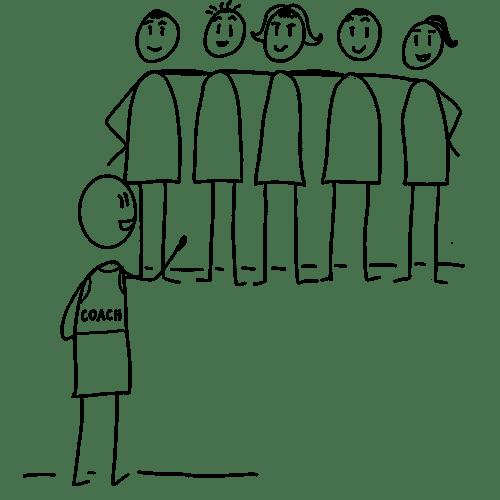 illustration coach Agile