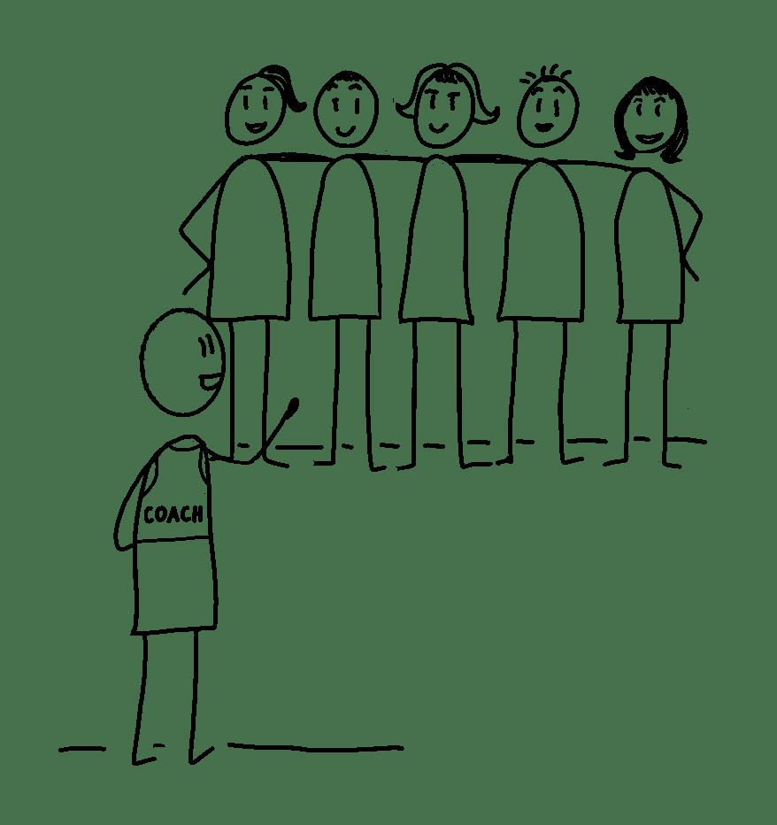 illustration coach Agile1