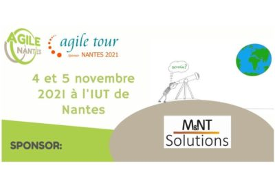 M&NT Solutions sponsor de l'Agile tour Nantes 2021